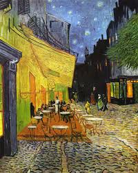 ''Cafe Terrace at Night''(1888